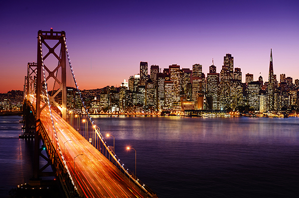 City of San Francisco at night